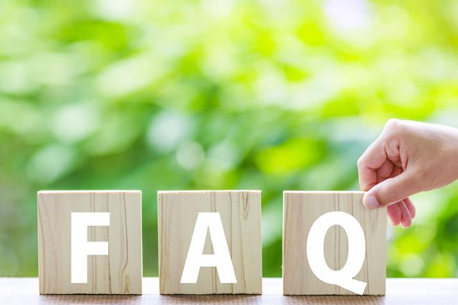 意外と読まれている!?よくある質問(FAQ)の作り方のイメージ