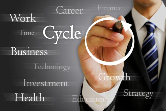 ビジネスモデルを決めるイメージ