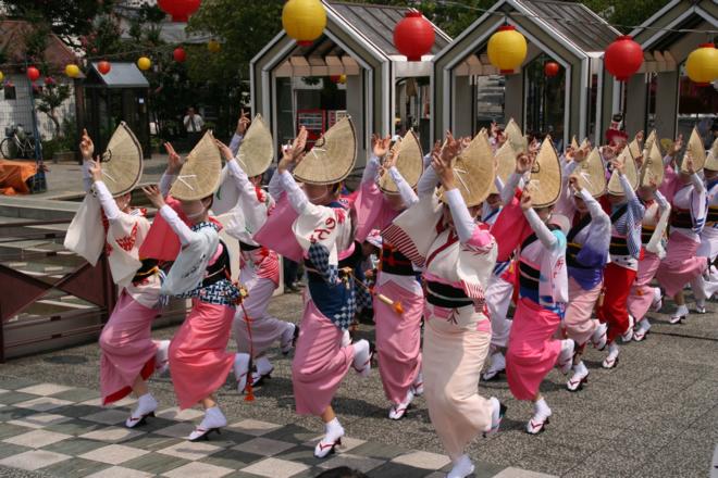 地域の祭りの写真